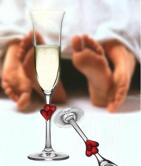 Бокал для шампанского L'Amour, Stolzle, 175 мл.