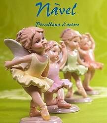 Фарфоровое статуэтки Navel