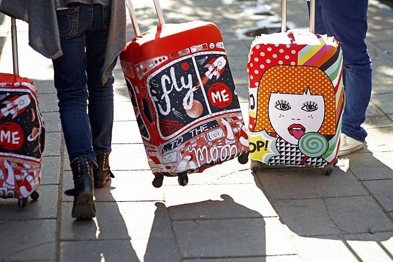 Чехол для чемодана, LOQI