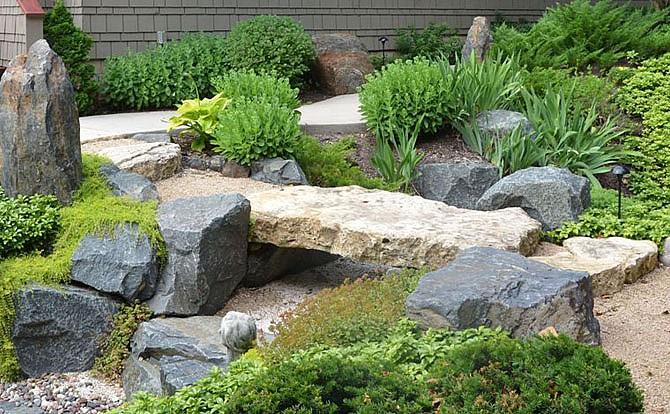 Сэкитэй - японский Сад камней