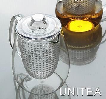 Чайник со стеклянным ситечком UNITEA Kinto
