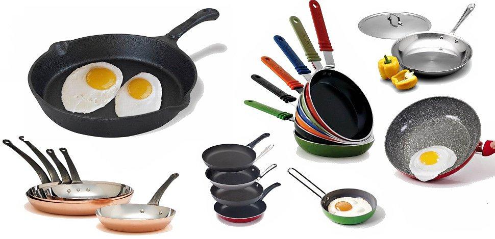 Какова сковорода – такова еда, или о тонкостях выбора сковородки.