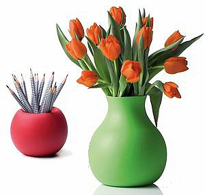 Резиновая ваза Atmosphere, Menu