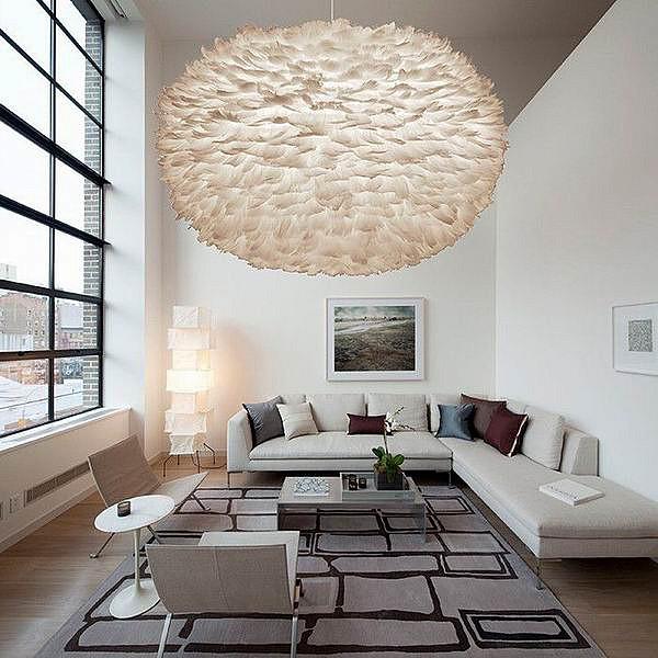 Стильный светильник для стильной комнаты